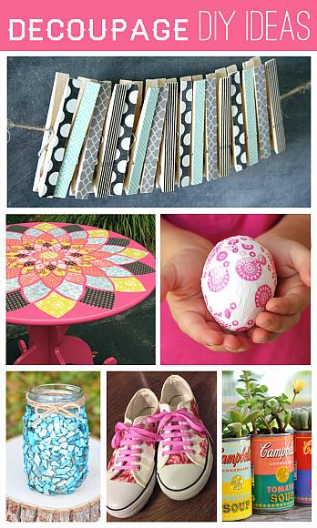 Decoupage DIY Ideas
