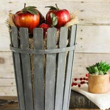 Stir Stick Bushel Basket
