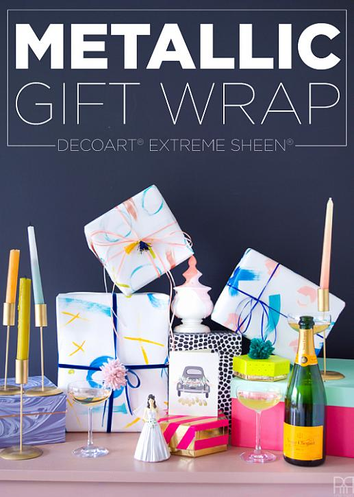 Extreme Sheen Wrapping Paper