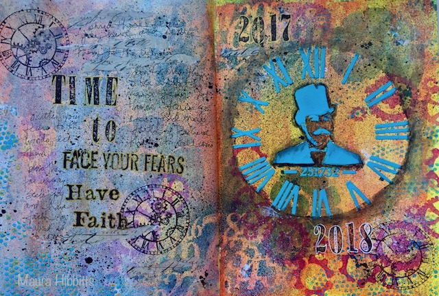 Time to Face Your Fears Journal Page