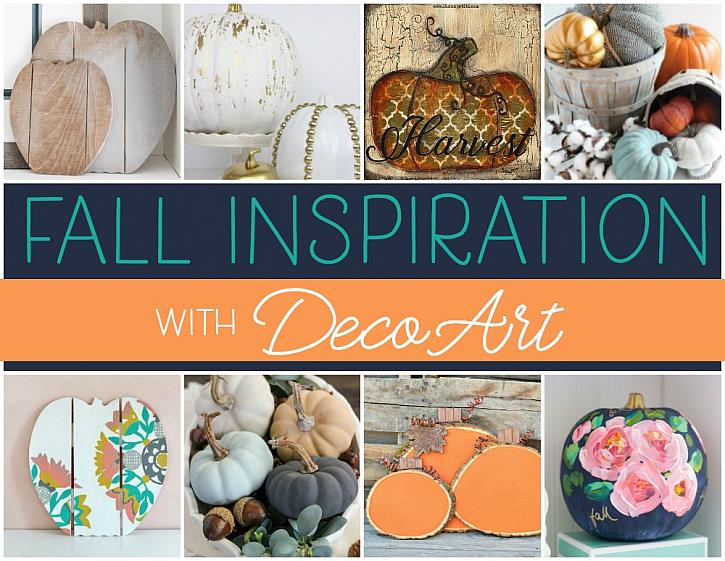 Welcome Fall with DecoArt