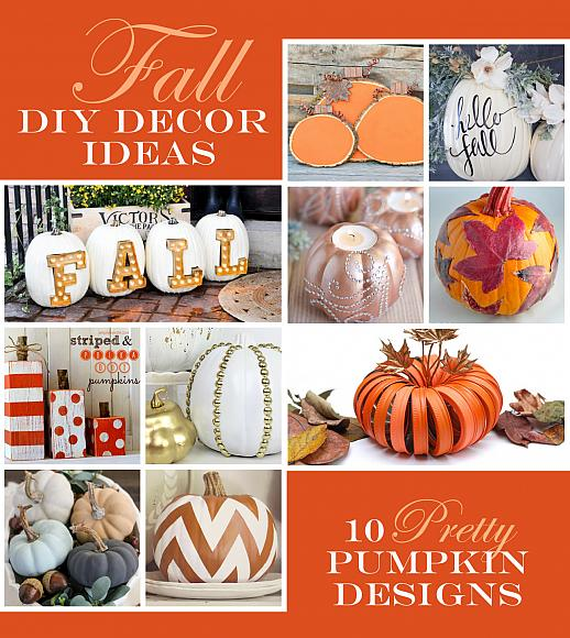 Fall Pumpkin Home Decor Ideas