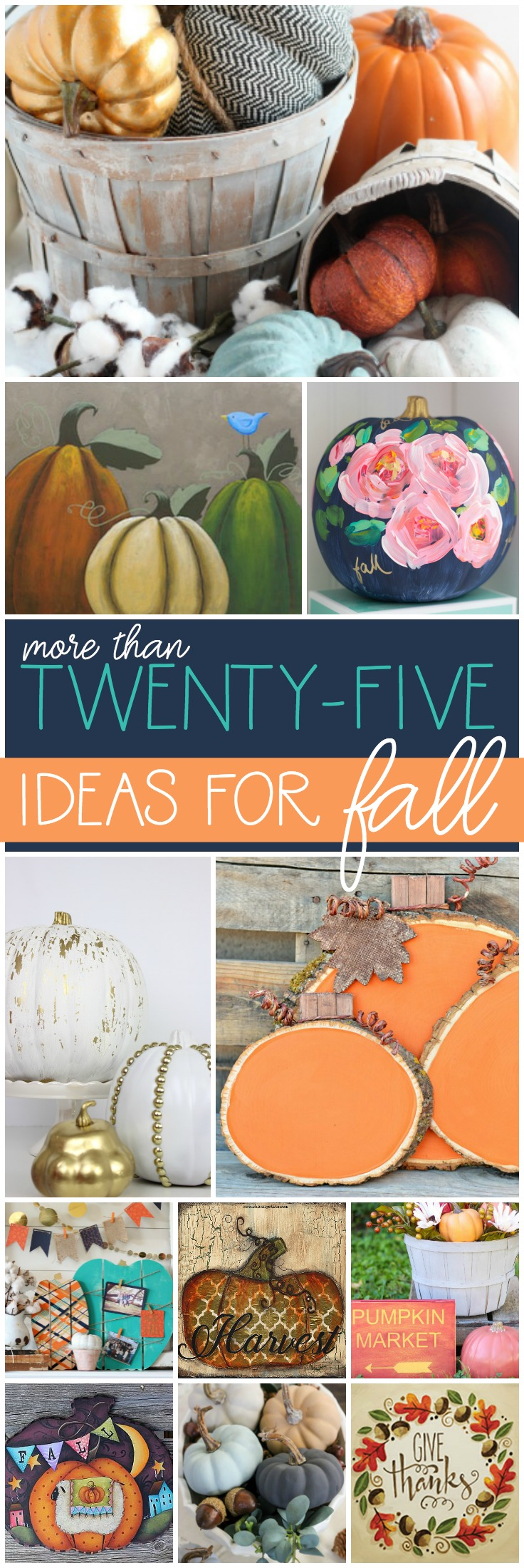 Welcome Fall with DecoArt Pinnable Image