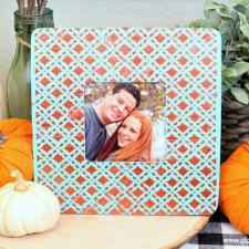 Textured Picture Frame by Mariah Leeson