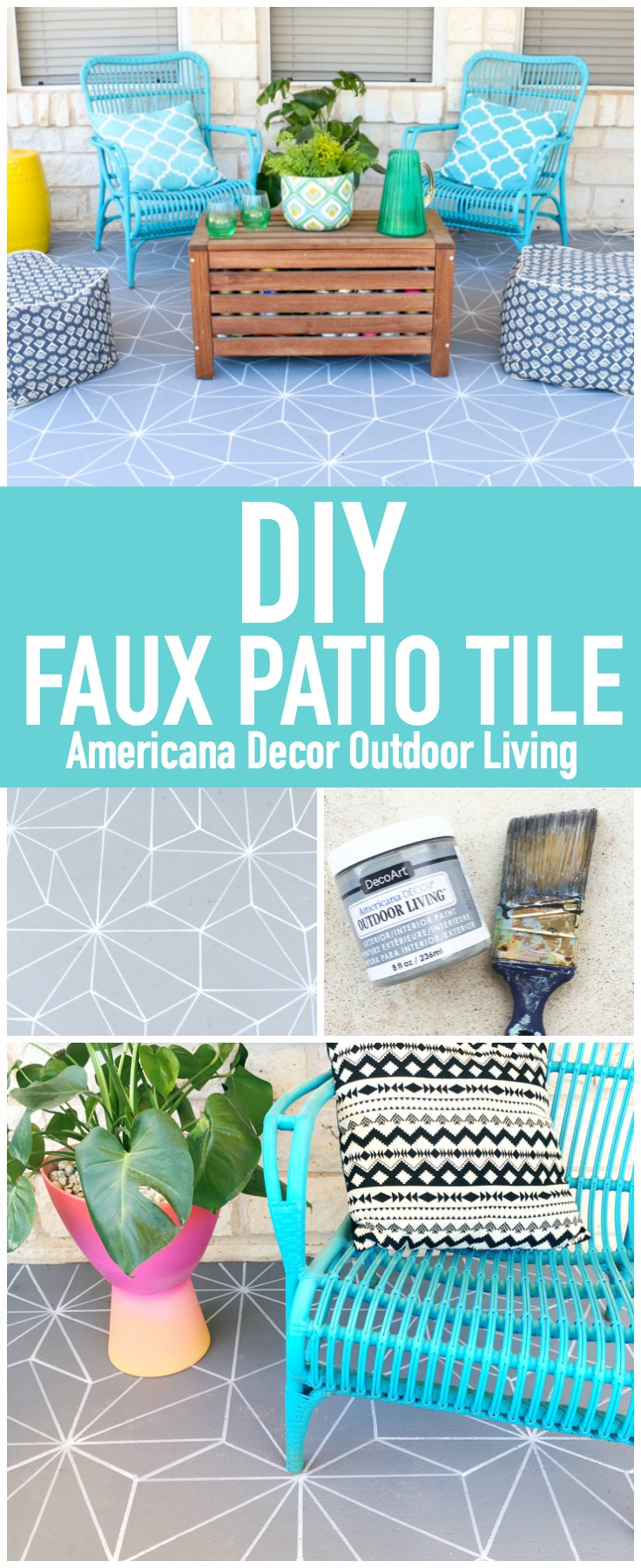 Faux Patio Tile Pin
