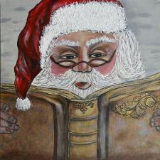 What is Santa Reading