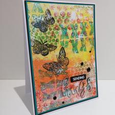Multi-Layer Single Print Card