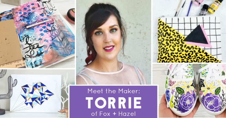 DecoArt Blog - Meet the Maker: Fox + Hazel