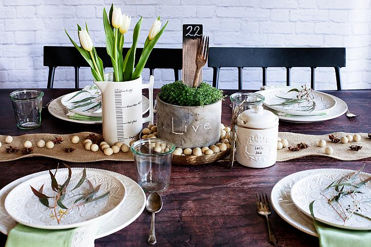 Simple Wedding Tablescape Ideas