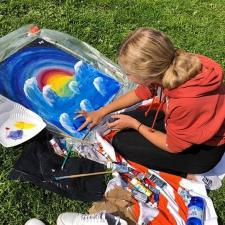 Students Color For A Cause with DecoArt�