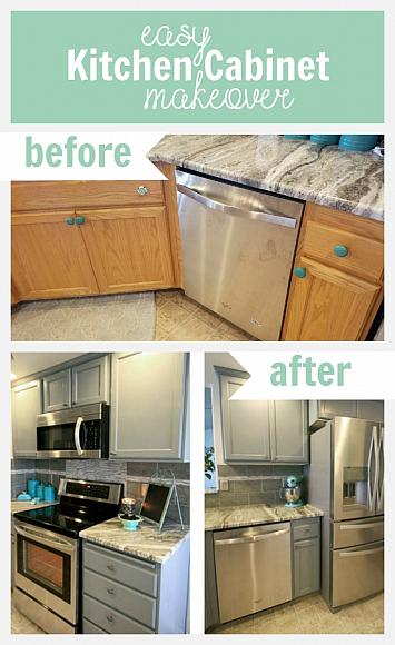 easy kitchen cabinet makeover decoart blog   diy   easy kitchen cabinet makeover  rh   decoart com