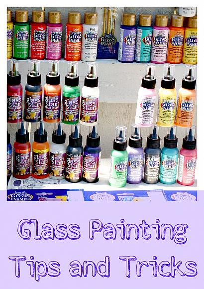 Materials Needed For Glass Painting