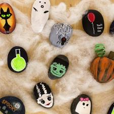 Halloween Rock Painting: Ideas and Inspiration
