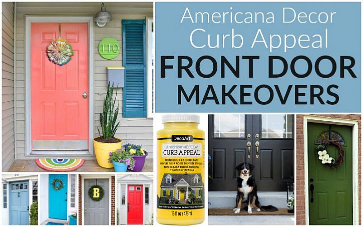 Decoart Blog Diy Curb Appeal Front Door Makeovers