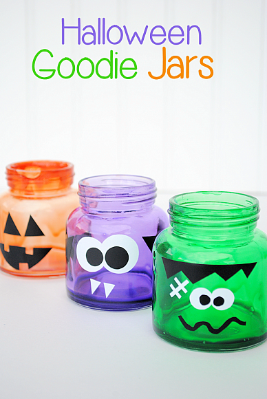 Halloween Goodie Jars