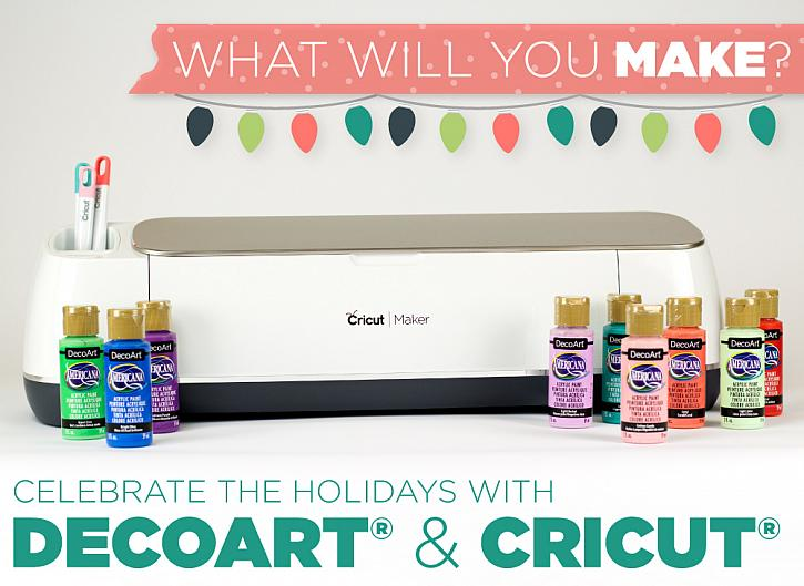 Celebrate the Holidays with DecoArt and Cricut