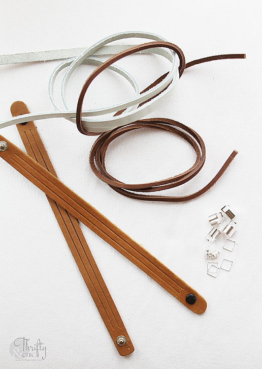 how to braid leather bracelets instructions