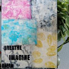 Gelli® Printing with Flowers - Laura Dame
