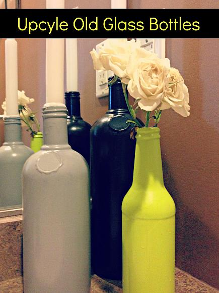 Decoart Blog Crafts Upcycle Old Glass Bottles