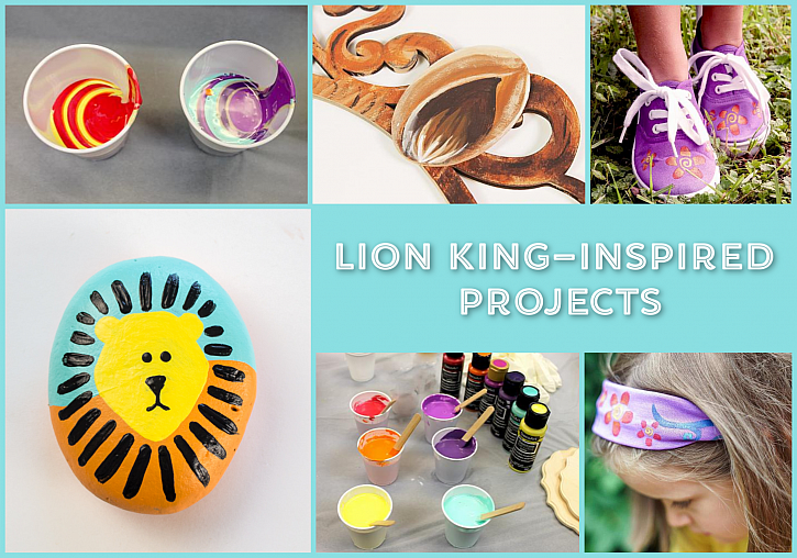 Lion King-Inspired Creations