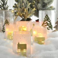 Winter Village Luminaries | Jennifer Rizzo