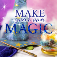 Magical Halloween Decor: Enchant with Glitter and Gold