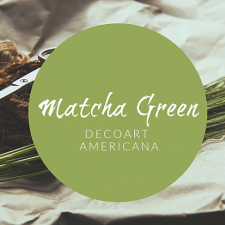 Color of the Month: July - Matcha Green