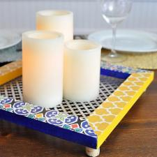 Moroccan Candle Centerpiece