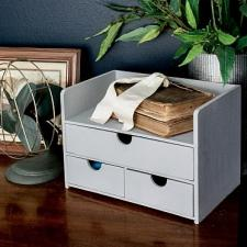 Simple Farmhouse Office Organizer