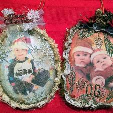 Vintage Inspired Christmas Ornaments