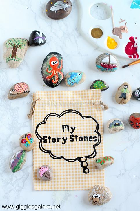 My Story Stones: Painted River Rocks