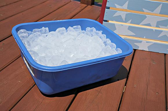 Instruction #3 - Patriotic Crate ice bucket