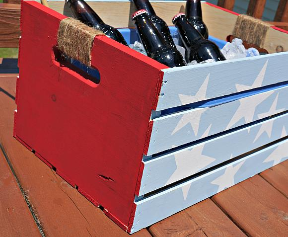 Instruction #4 - Patriotic Crate twine handles