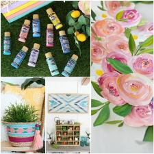Spring Decor with Americana Acrylics