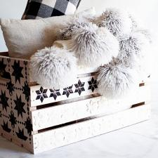 Blanket Storage Box by Heather Thoming