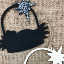 Simple Nativity Ornaments by Intelligent Domestications
