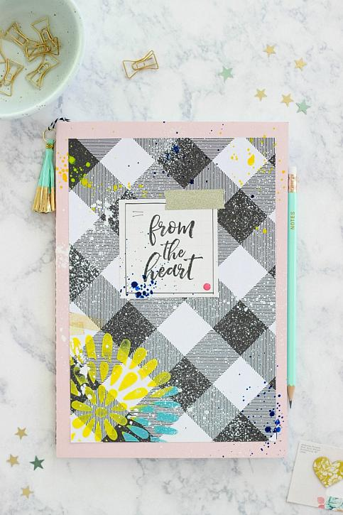 Simple Mixed Media Notebook for Beginners