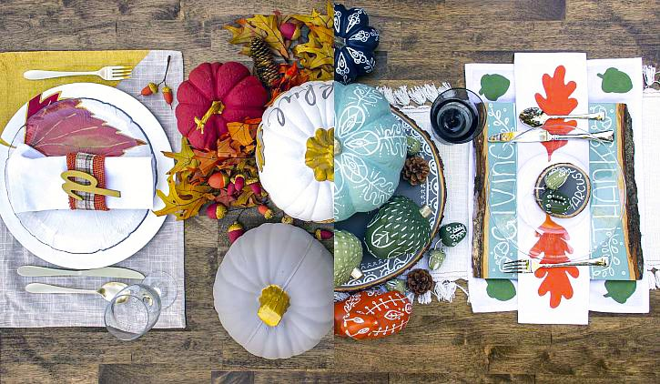 Dreamy DIY Thanksgiving Tablescapes