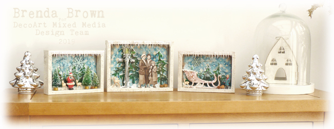 Christmas Triptych Decoration