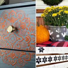 Textured Fall Decor