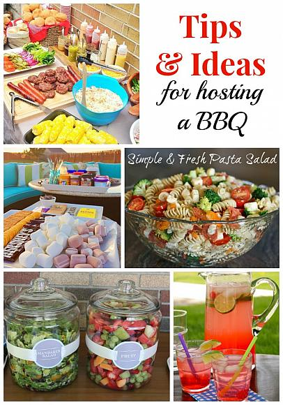 Tips & Ideas for Hosting a Barbecue