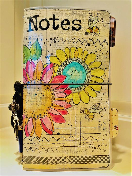 Springy Travelers Notebook