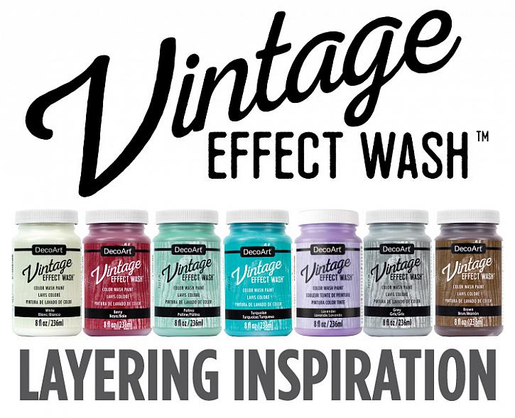 Vintage Effect Wash: Layering Inspiration