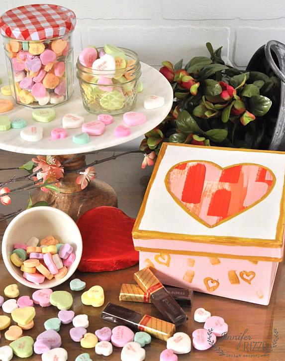 Layered Heart Box