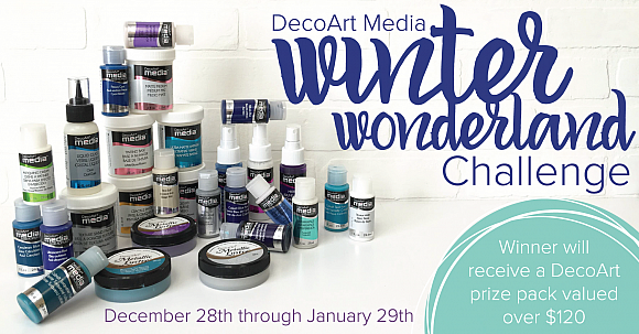 DecoArt Media Winter Wonderland Challenge