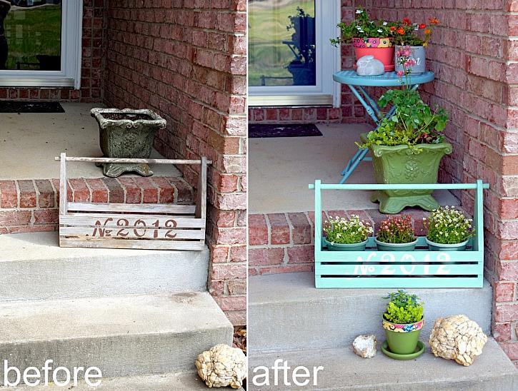 Instruction #12 - before-after-front-porch