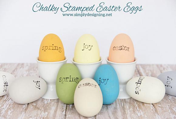 Instruction #5 - chalky stamped easter eggs 03