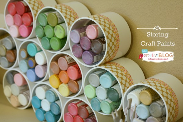 & DecoArt Blog - Craft Paint Storage Ideas