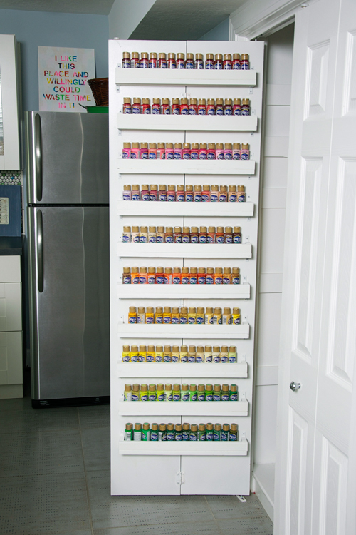 Decoart Blog Craft Paint Storage Ideas