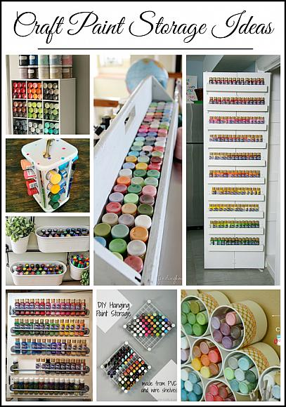 Ideas For Storing Craft Paints